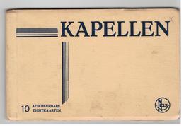 Kapellen Boekje Met 10 Postkaarten  J.ROHART KAPELLEN - Kapellen