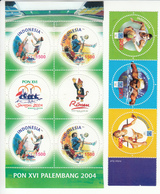 Indonesia 2004 Sports Circle Stamps, MNH** - Indonesia