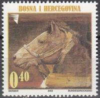 Bosna I Hercegovina 2002 Michel 290 Neuf ** Cote (2006) 1.50 Euro Tableau Tête De Cheval - Bosnie-Herzegovine