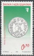 Bosna I Hercegovina 2002 Michel 288 Neuf ** Cote (2006) 0.30 Euro Monnaie Roi Stjepan - Bosnie-Herzegovine