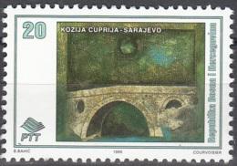 Bosna I Hercegovina 1995 Michel 32 Neuf ** Cote (2006) 0.50 Euro Sarajevo Pont Kozija - Bosnie-Herzegovine
