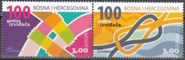 Bosna I Hercegovina 2007 Yvert 550 - 551 Neuf ** Cote (2015) 6.40 Euro Europa CEPT Le Scoutisme - Bosnie-Herzegovine
