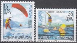 Srbija I Crna Gora 2004 Michel 3196 - 3197 Neuf ** Cote (2015) 5.00 Euro Europa CEPT Les Vacances - Serbie