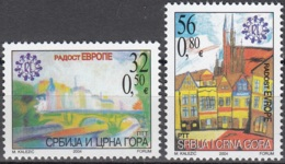Srbija I Crna Gora 2004 Michel 3215 - 3216 Neuf ** Cote (2006) 2.60 Euro Dessins D'enfants - Serbie
