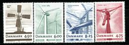 Denmark 2007 Dinamarca / Mills MNH Molinos / 0355  38-41 - Molinos