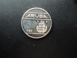 ARUBA * : 25 CENTS  1989   KM 3     NON CIRCULÉ (UNC) - [ 4] Colonies