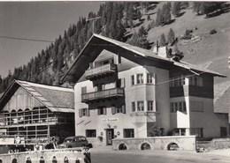 PLAN DI VAL GARDENA-BOZEN-BOLZANO-PENSIONE=SILVANA=-CARTOLINA VERA FOTOGRAFIA- VIAGGIATA IL 28-1-1963 - Bolzano