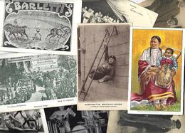 Lot 2068 De 10 CPA CPSM Cirque Circus Cirk Spectacle Déstockage Pour Revendeurs Ou Collectionneurs - Ansichtskarten