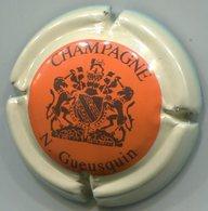 CAPSULE-CHAMPAGNE GUEUSQUIN N. N°05 Orange Ctr Sable - Champagnerdeckel
