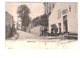 WALCOURT  Le Chemin Du Calvaire   Cafe A Bouty - Walcourt