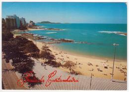 °°° 13787 - BRASIL - ESPIRITO SANTO - GUARAPARI - PRAIA DO CASTANHEIRA - 1993 With Stamps °°° - Vitória
