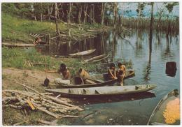 °°° 13790 - BRASIL - MISSIONARI CAPPUCCINI IN AMAZZONIA - INDI TIKUNAS AL PORTO °°° - Manaus