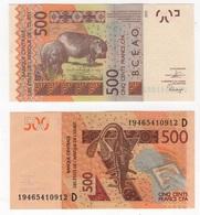 West African St. - Mali - 500 Francs 2019 UNC Letter D Lemberg-Zp - Mali