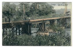 Congo Belge  Pont De La Lukala Dans Le Mayumbe  Edit Nels Série 14 N° 84 - Congo Belge - Autres