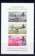 Haiti CB34a MNH 1961 Surcharged Souvenir Sheet - Haiti