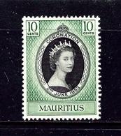 Mauritius 250 MNH 1953 QEII Coronation - Malta (...-1964)