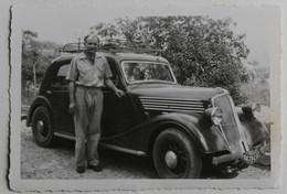 Photo Originale Voiture Renault Primaquatre Avec Galerie Plaque 6473CA8 - Automobile