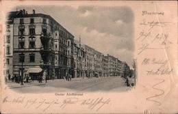 ! Alte Ansichtskarte Aus Magdeburg, Gustav Adolfstrasse, Verlag Odemar 1353 - Magdeburg