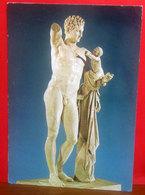 Hermes Of Praxiteles Museum Olympia Grecia Scultura  CARTOLINA Non Viaggiata - Sculptures