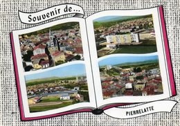 Pierrelatte  En Avion Au Dessus De    Edit Lapie   No 116.....souvenir - Autres Communes