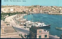POSTAL MALTA - THE YACHT MARINA - GZIRA - ALFRED GALEA ZAMMIT & CO - Malta