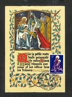 CONGO BELGE - BELGISCH CONGO - Carte MAXIMUM 1959 - NOEL 1959 - CHRISTMAS 1959 - Belgisch-Kongo