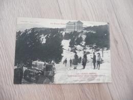 CPA 66 Pyrénées Orientales Font Romeu Le Grand Hôtel Collection Sports D'hiver Skieurs Dénégeuse - France