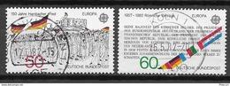 Germany/Bund Mi. Nr.: 1130 - 31 Vollstempel (brv81er) - Gebraucht