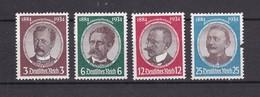 Deutsches Reich - 1934 - Michel Nr. 540/543 - Ungebr.. - 20 Euro - Alemania