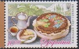 UKRAINE, 2019, MNH, FOOD, DESSERTS, CAKES, 1v - Food