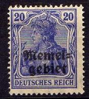 Memel 1920 Mi 4 * [260819VII] - Memelgebiet