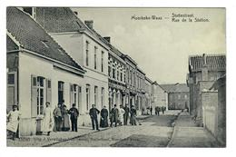 Moerbeke - Waas  Statiestraat  Rue De La Station - Moerbeke-Waas