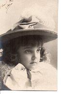 Vraie Photo Clément TOURNIER - Bel Enfant Au Grand Chapeau - Portraits