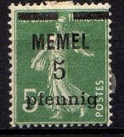 Memel (Klaipeda) 1920 Mi 18 B * [260819VII] - Memelgebiet