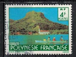 POLYNESIE FRANCAISE            N°     YVERT    291  OBLITERE       ( Ob  5/25 ) - Oblitérés
