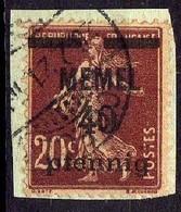 Memel 1920 Mi 22, Gestempelt [260819VII] - Memelgebiet