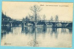 CPA 45 OLIVET Les Bords Du Loiret - Le Pont Cotelle 1911 - Frankrijk