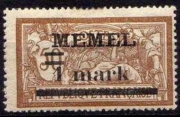 Memel (Klaipeda) 1920 Mi 26 Y * [260819VII] - Memelgebiet