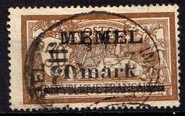 Memel 1920 Mi 26 Y, Gestempelt [260819VII] - Memelgebiet