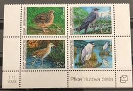Bosnia And Hercegovina, HP Mostar, 2009, Mi: 275/78 (MNH) - Hoendervogels & Fazanten