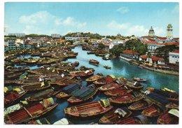 SINGAPORE RIVER (PUBL. KRUGER) - 1970 - Singapore