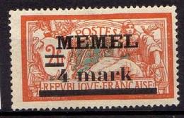 Memel 1920 Mi 31 I Y * [260819VII] - Memelgebiet