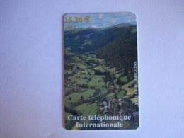 Carte Téléphonique Prépayée SWITCHback (carte D'essai Sans Code). Pas La Même Somme ! Petit Prix De Départ ! - Francia