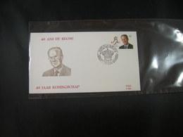 "BELG.1991 2415 FDC (Brux1/Brus1) : "" 60e Anniversaire Du Roi Baudouin &  40 Jaar Koningschap "" - 1991-00"