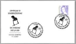 DONACION DE CORDON UMBILICAL - Donation Of Umbilical Cord. Lecce 2007 - Medicina