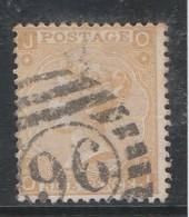 GB - 9 Pence - Yvert N° 35 - Planche 4 (1867 / 1869) - Oblitérés