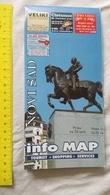 NOVI SAD CITY PLAN MAP STREET SERBIA FORMER YUGOSLAVIA AD PROMO ADVERTISE TOURISM TOURISTS CHART SHOP  SERVICE SHOPPING - Mappe