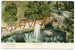GIBRALTAR : THE CASCADE / ADDRESS - CALCUTTA, WELLESLEY STREET - Gibraltar