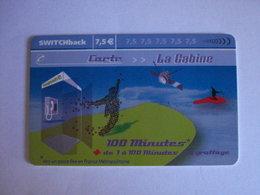 Carte Téléphonique Prépayée SWITCHback (carte D'essai Sans Code). Petit Prix De Départ ! - Francia