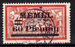 Memel (Klaipeda) 1921 Mi 36, Gestempelt [260819VII] - Memelgebiet